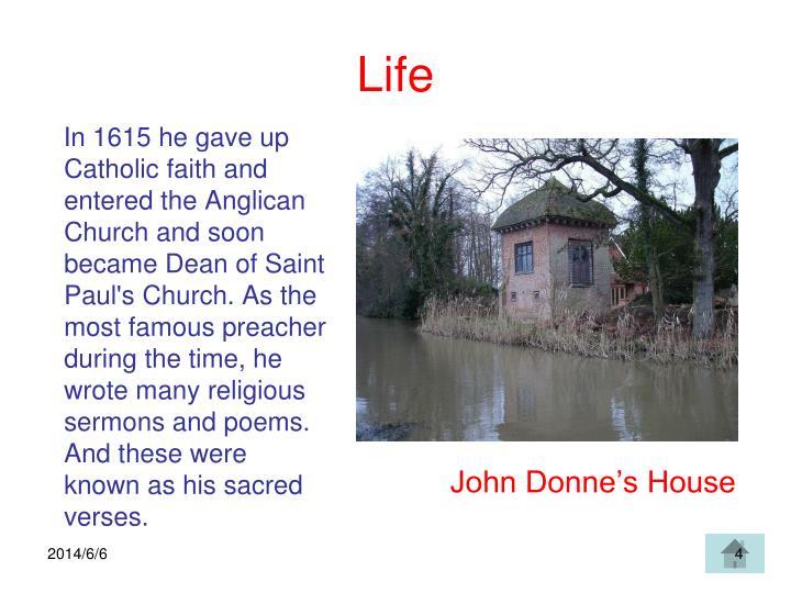 John Donne's House