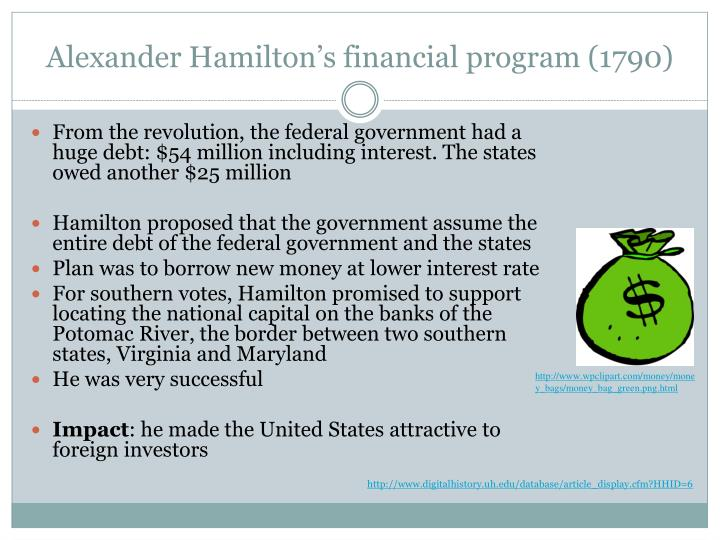 hamilton and the economy essay