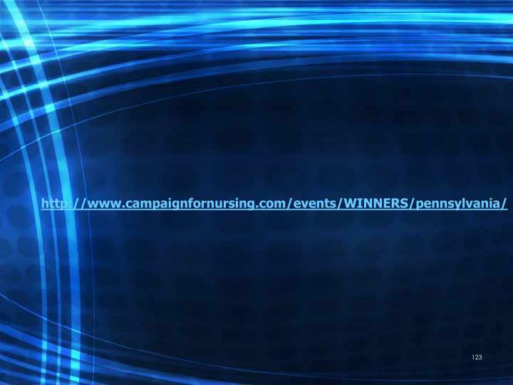 http://www.campaignfornursing.com/events/WINNERS/pennsylvania/