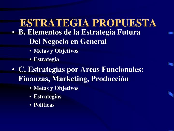 ESTRATEGIA PROPUESTA