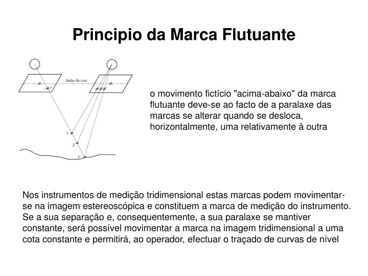 Principio da Marca Flutuante