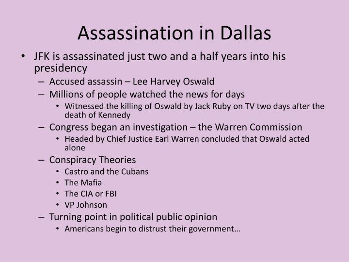 Assassination in Dallas