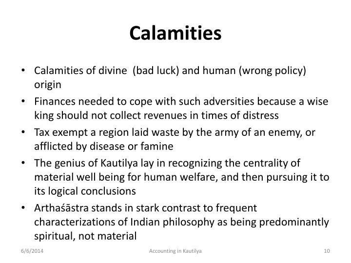 Calamities