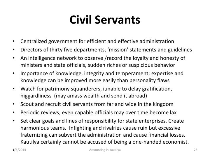 Civil Servants
