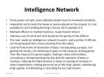 intelligence network
