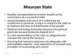 mauryan state