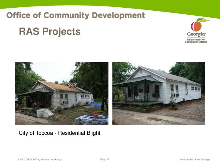 RAS Projects