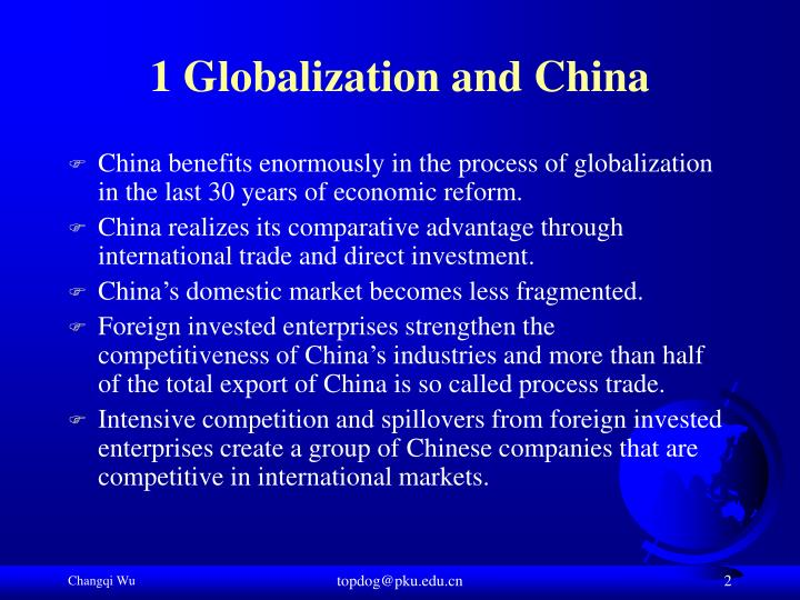 globalization and identity in china