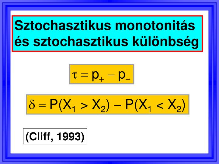 Sztochasztikus