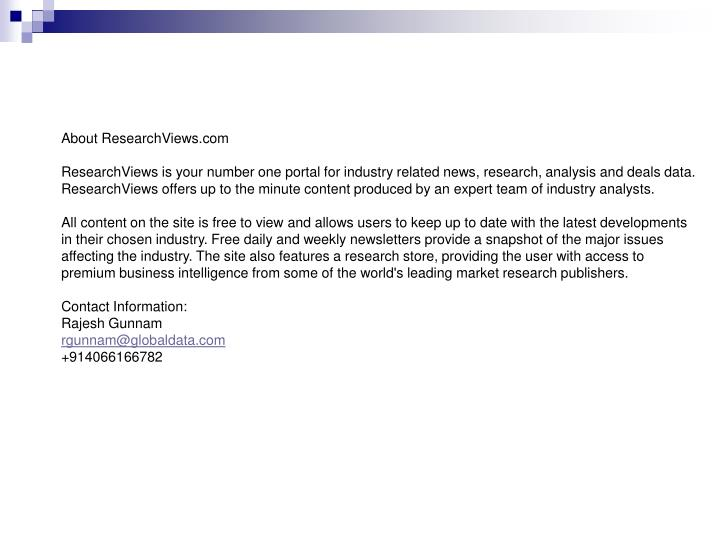 About ResearchViews.com