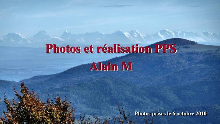 Photos et réalisation PPS