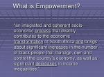 what is empowerment
