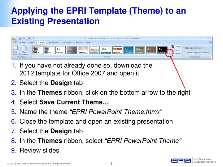 How to apply new template to existing presentation slide how to apply new template to existing presentation slide toneelgroepblik Gallery
