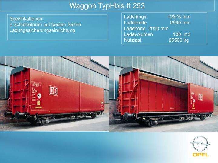 Waggon TypHbis-tt 293