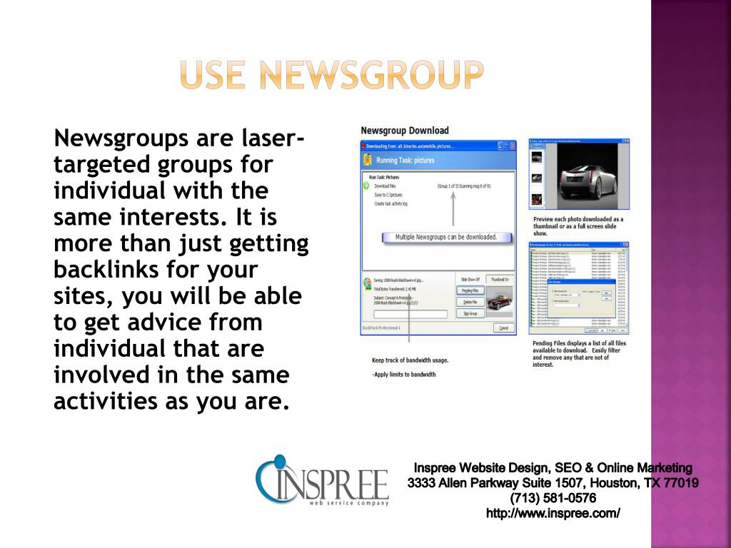use newsgroup