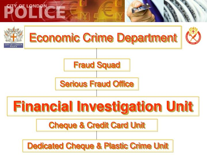 Economic crime department