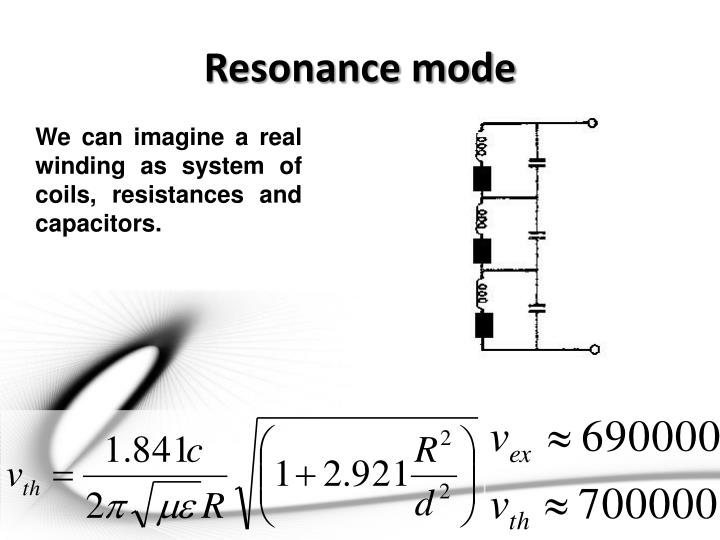 Resonance mode