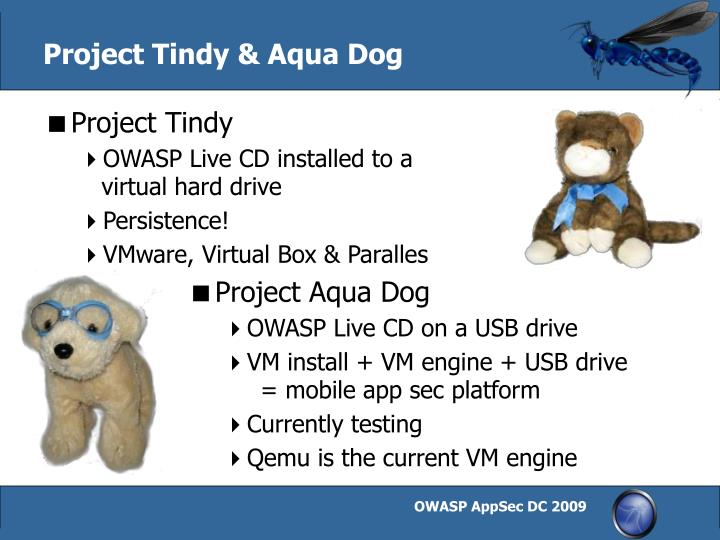 Project Tindy & Aqua Dog