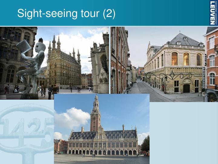 Sight-seeing tour (2)
