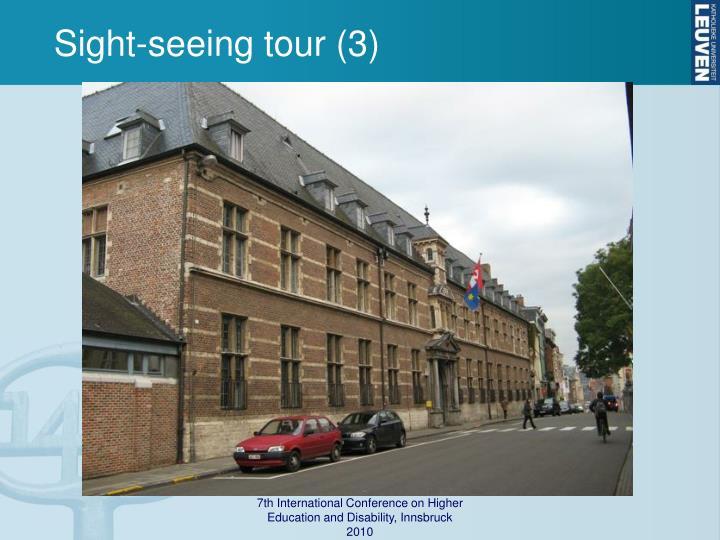 Sight-seeing tour (3)
