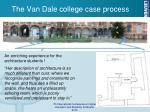the van dale college case process2