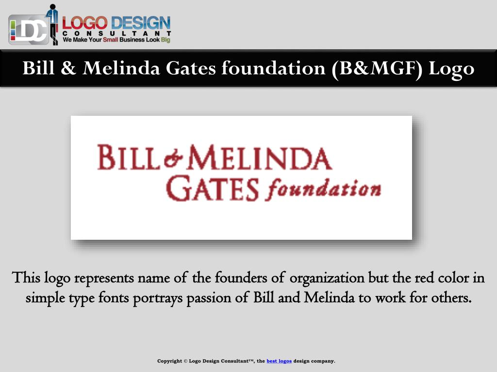 Bill & Melinda Gates foundation (B&MGF) Logo