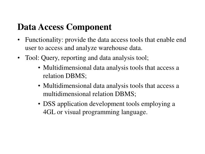 Data Access Component