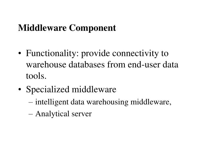 Middleware Component