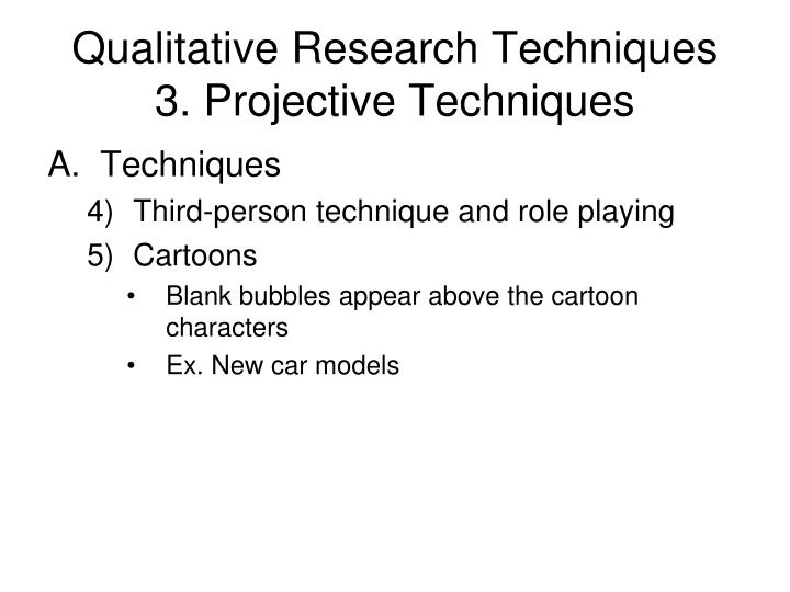 Qualitative Research Techniques