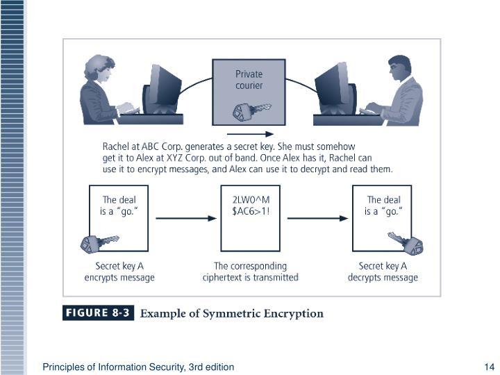 Figure 8-3 Symmetric Encryption Example