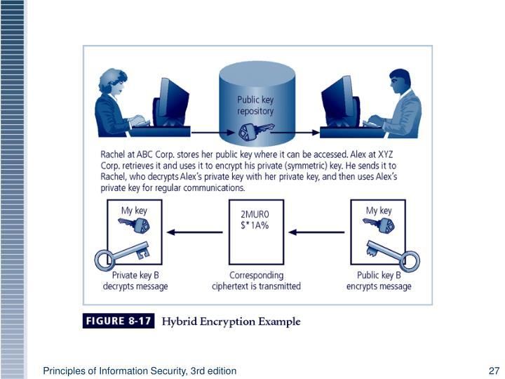 Figure 8-7 Hybrid Encryption Example