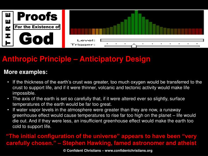 Anthropic Principle – Anticipatory Design