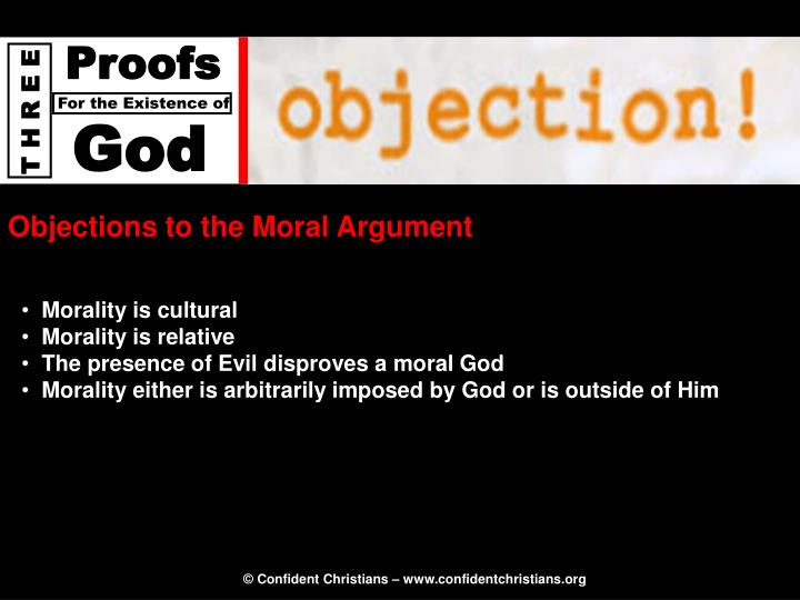 Objections to the Moral Argument