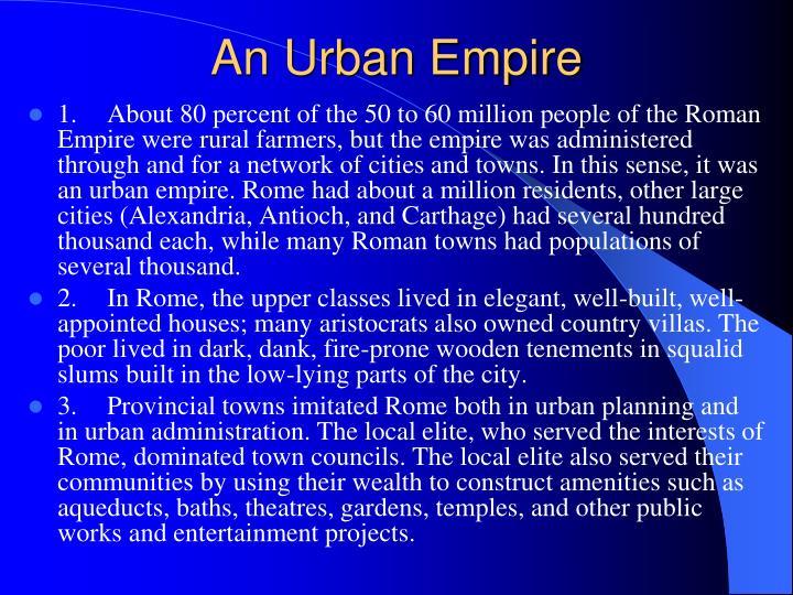 An Urban Empire
