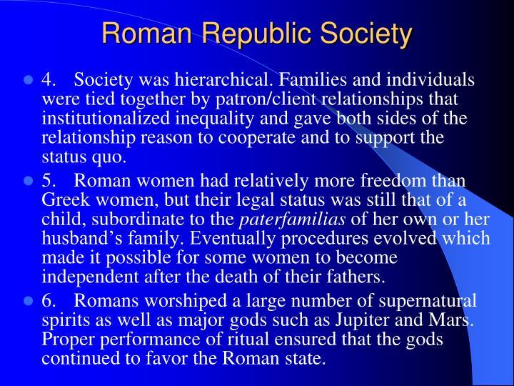 Roman Republic Society