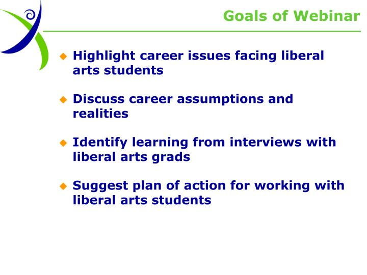 Goals of Webinar