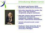 introducing sheila curran