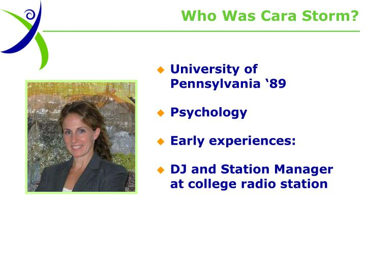 Who Was Cara Storm?