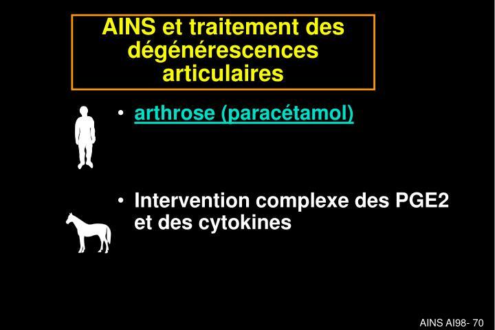 arthrose (paracétamol)