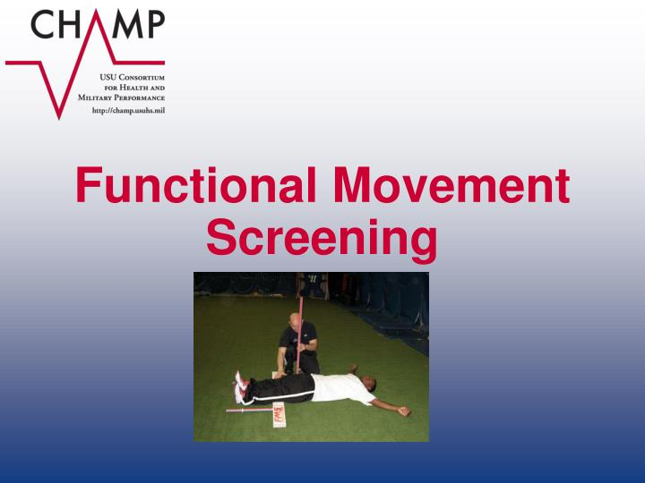 Functional Movement Screening