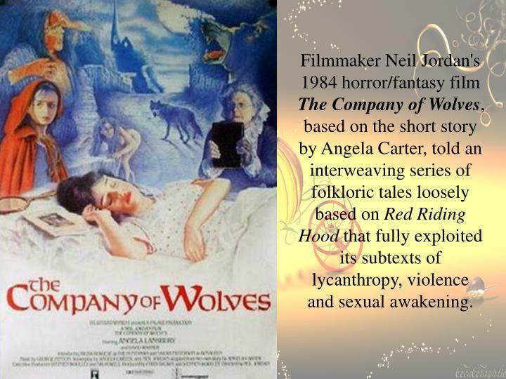 Filmmaker Neil Jordan's 1984 horror/fantasy film