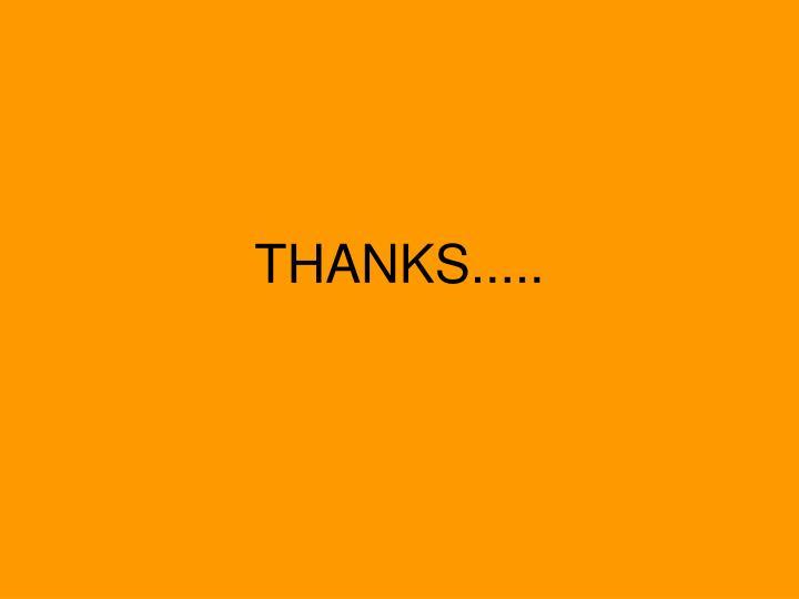 THANKS.....