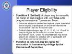 player eligibility25