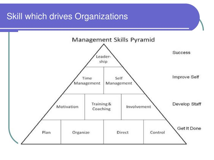 Skill which drives Organizations
