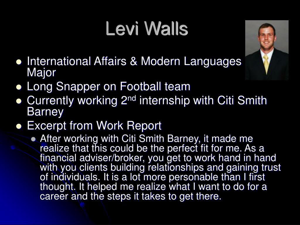 Levi Walls
