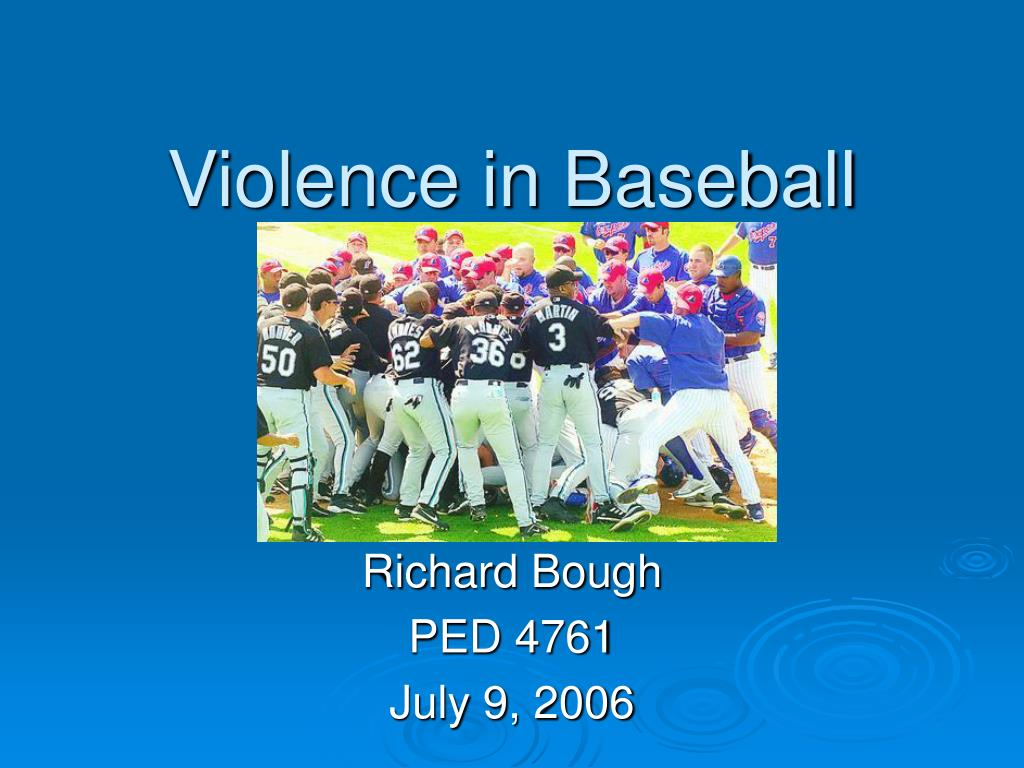 Violence in Baseball