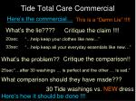 tide total care commercial