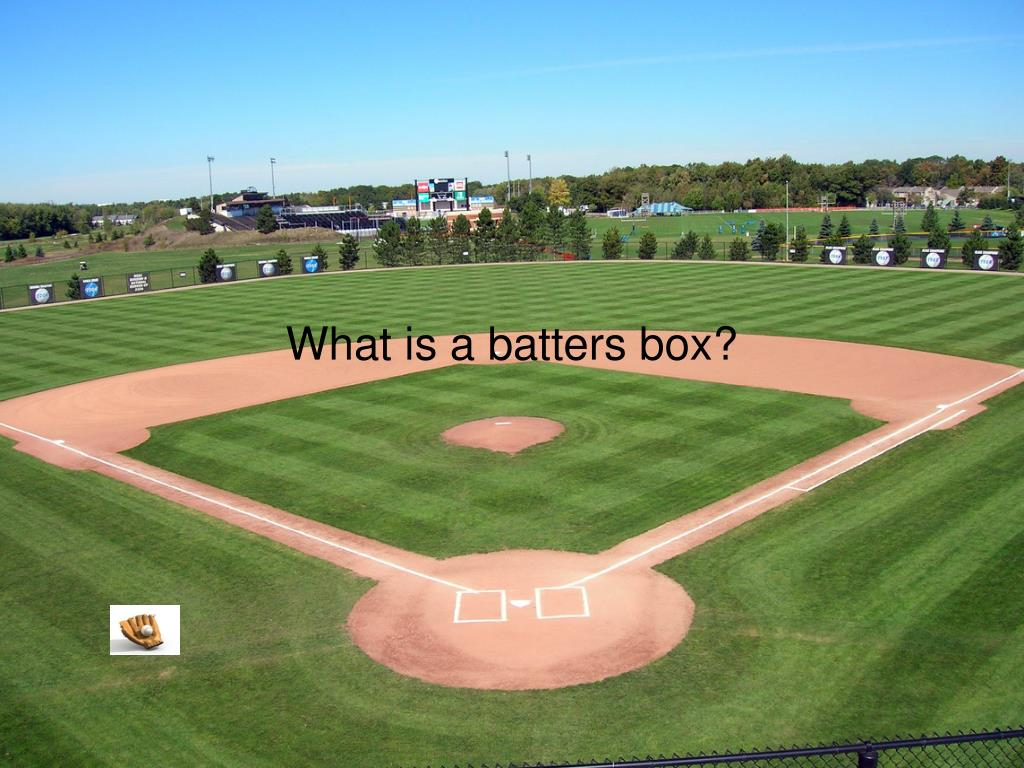 What is a batters box?