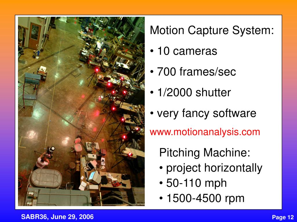 Motion Capture System: