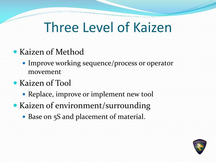 Three Level of Kaizen